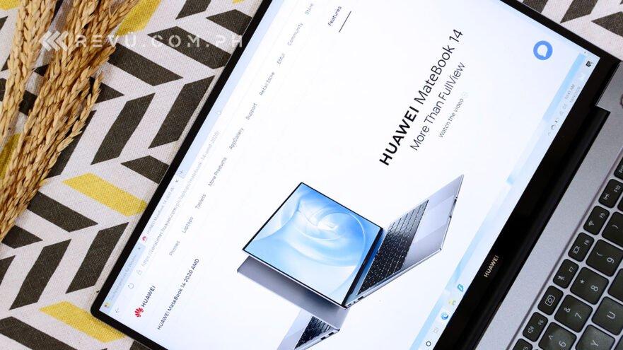 Huawei MateBook 14 2020 Ryzen Edition unboxing, price, and specs via Revu Philippines