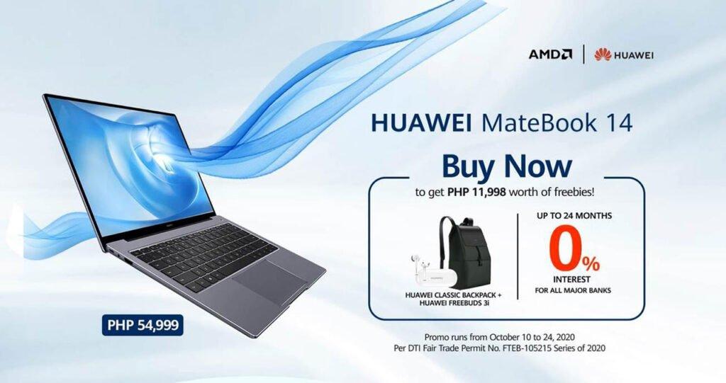 Huawei MateBook 14 price, specs, and freebies via Revu Philippines