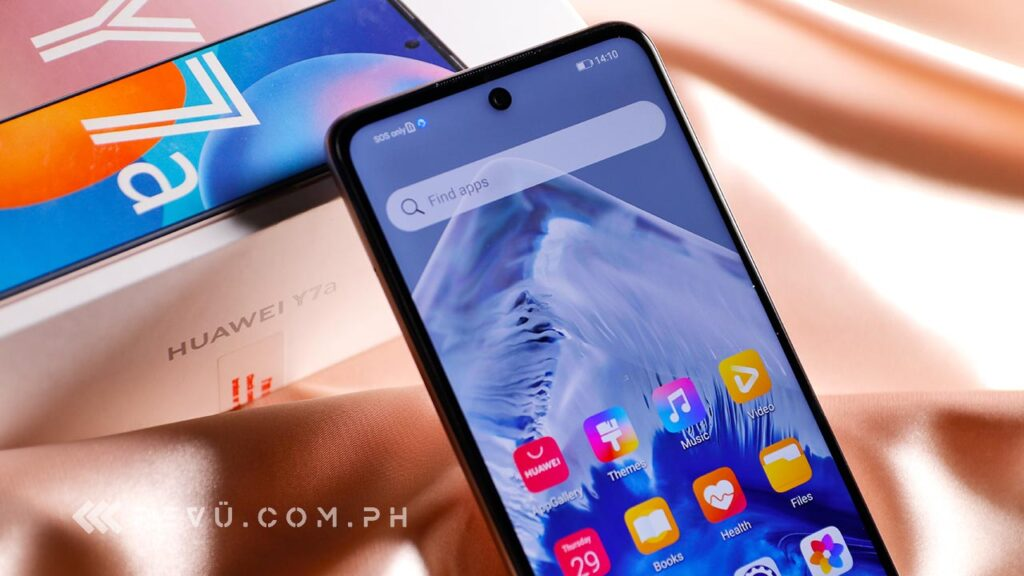 Huawei Y7a price and specs via Revu Philippines