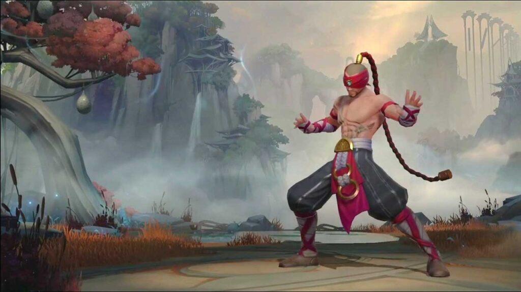 Lee Sin in League of Legends: Wild Rift via Revu Philippines