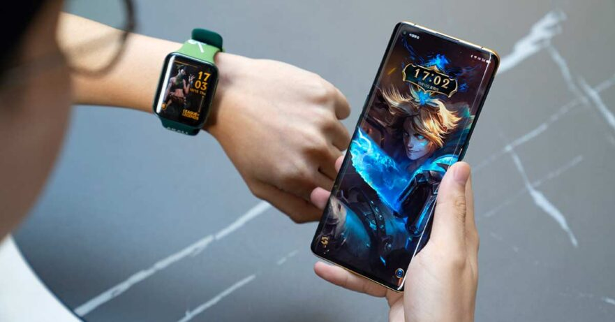 OPPO Find X2 League of Legends S10 Limited Edition and Watch League of Legends Limited Edition unboxing pictures and prices via Revu Philippines