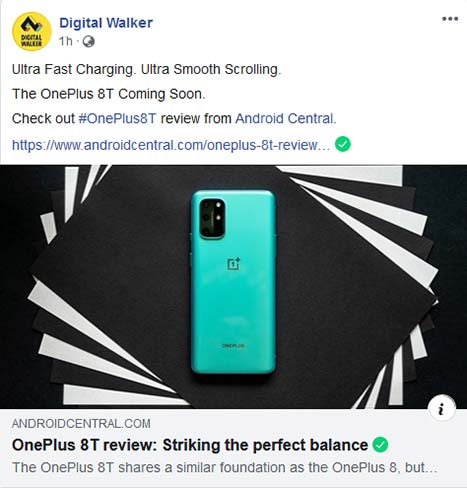 Digital Walker's OnePlus 8T launch teaser via Revu Philippines