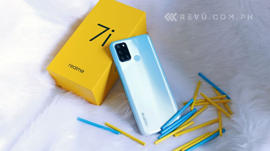 Realme 7i review, price, and specs via Revu Philippines
