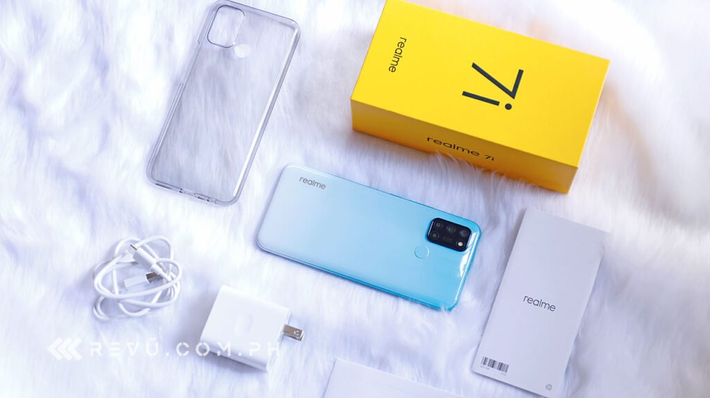Realme 7i unboxing, review, price, and specs via Revu Philippines