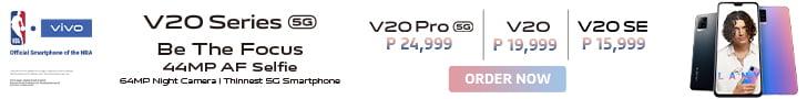 Vivo V20 series PH now available