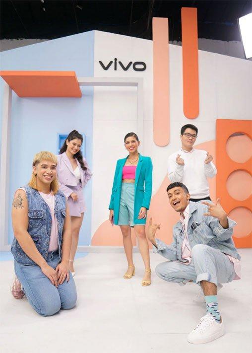 Vivo V20 Pro with Maine Mendoza and the Creative It Kids via Revu Philippines