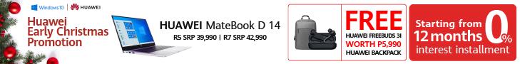 Huawei MateBook D 14 Xmas