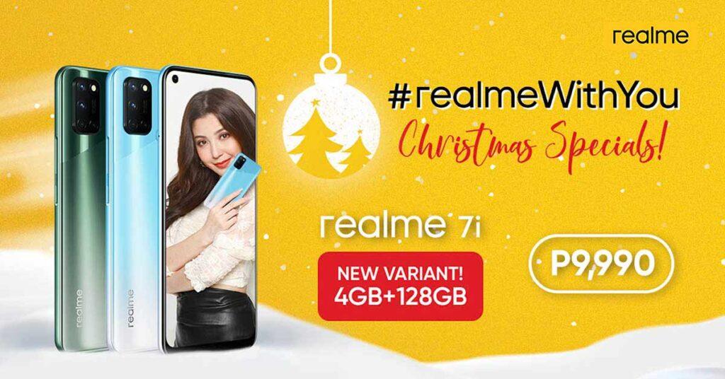 Cheaper Realme 7i price and specs via Revu Philippines