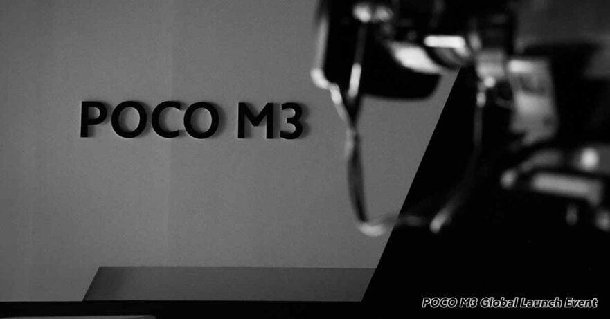 POCO M3 launch event teaser via Revu Philippines