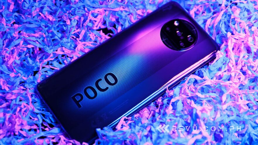 POCO X3 NFC review, price, and specs via Revu Philippines