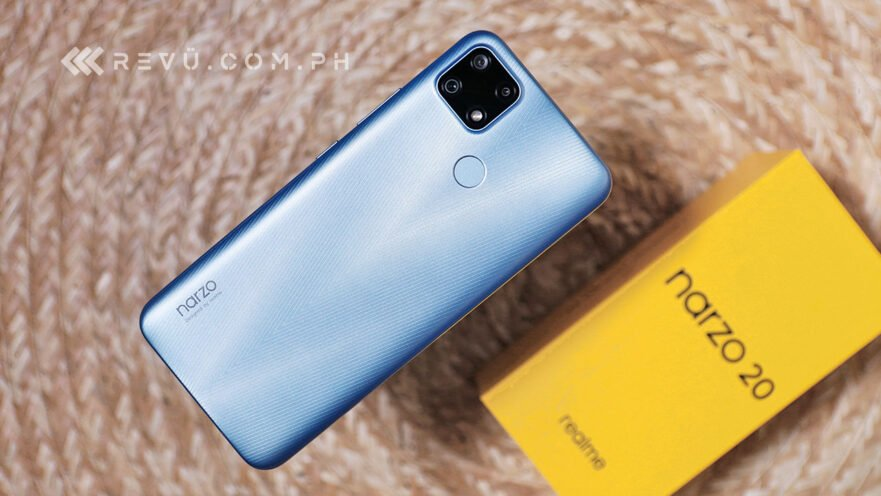 Realme Narzo 20 price and specs via Revu Philippines