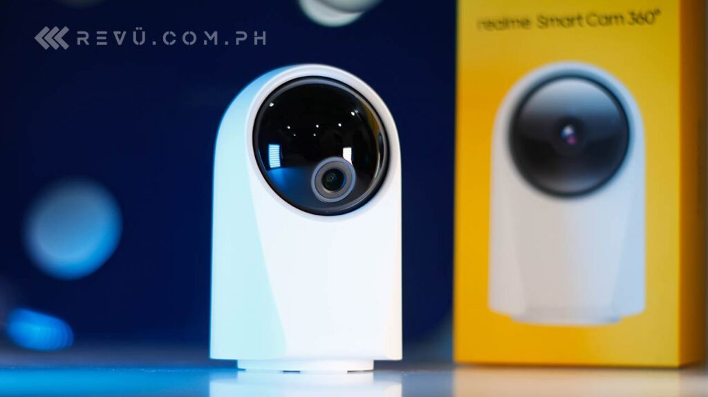 Realme Smart Cam 360 price and specs via Revu Philippines
