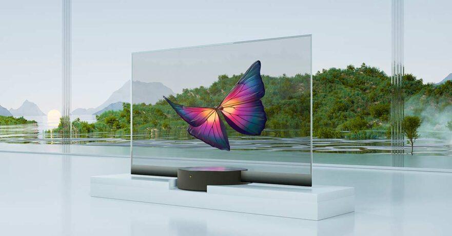 Xiaomi Mi TV Lux OLED Transparent Edition or Xiaomi Mi transparent TV price and specs via Revu Philippines