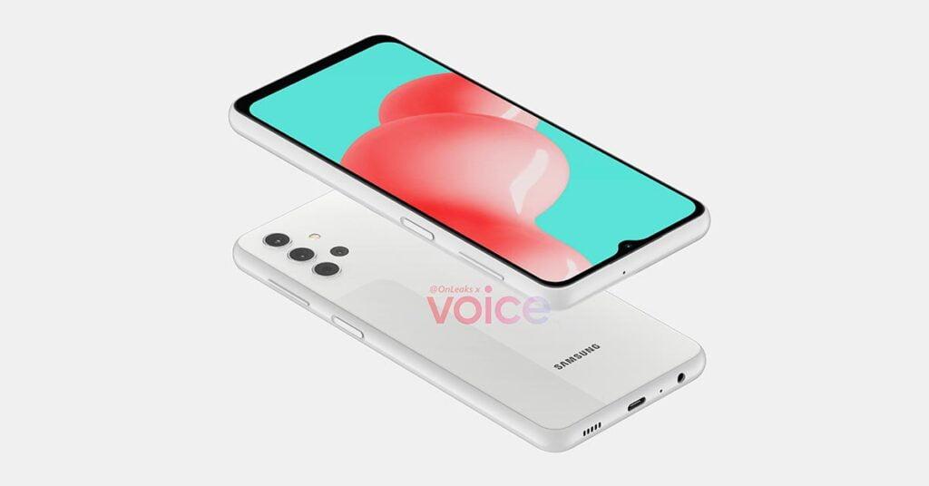 Samsung Galaxy A32 5G design in image leak via Revu Philippines