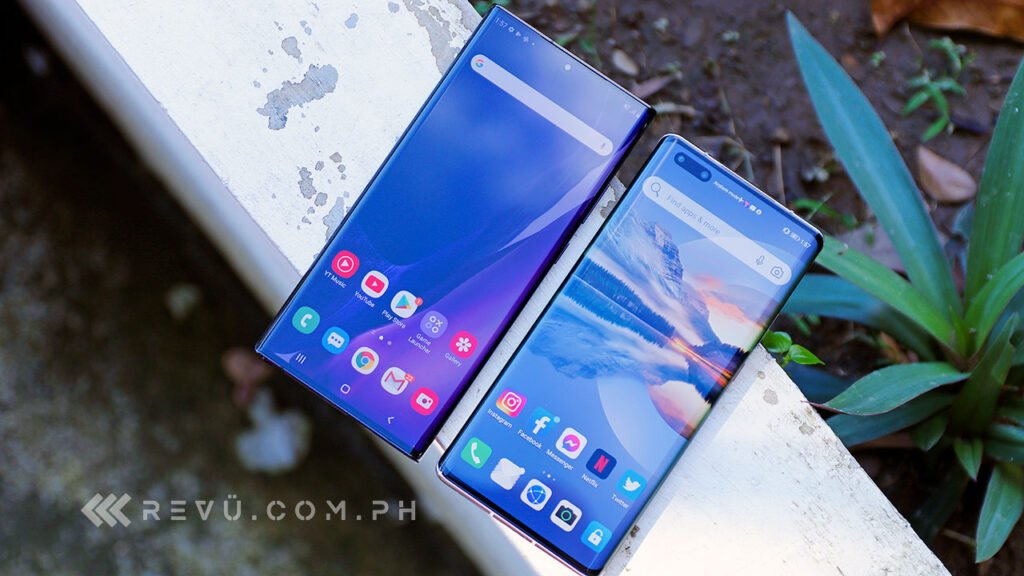 Samsung Galaxy Note 20 Ultra vs Huawei Mate 40 Pro comparison review by Revu Philippines