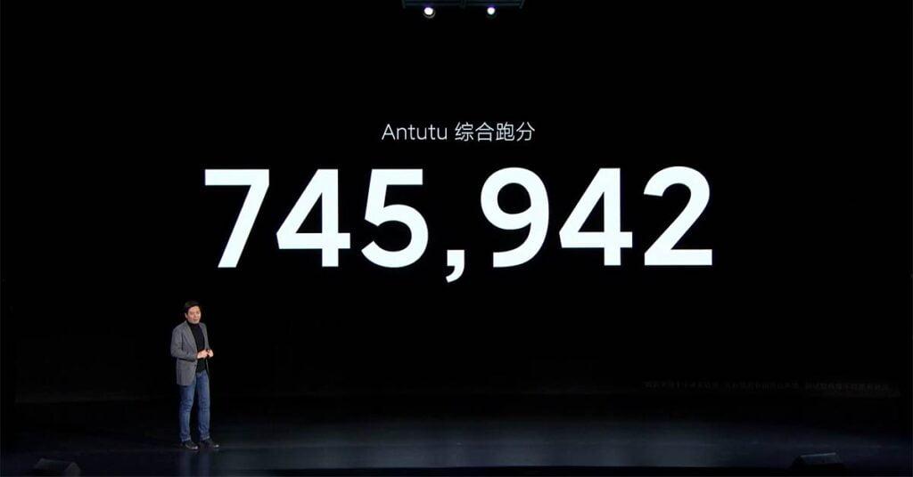 Xiaomi Mi 11 Antutu benchmark score via Revu Philippines