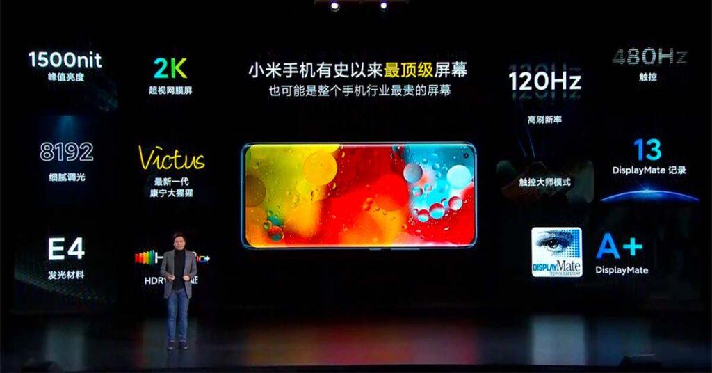 Xiaomi Mi 11 Super AMOLED screen or display specs via Revu Philippines