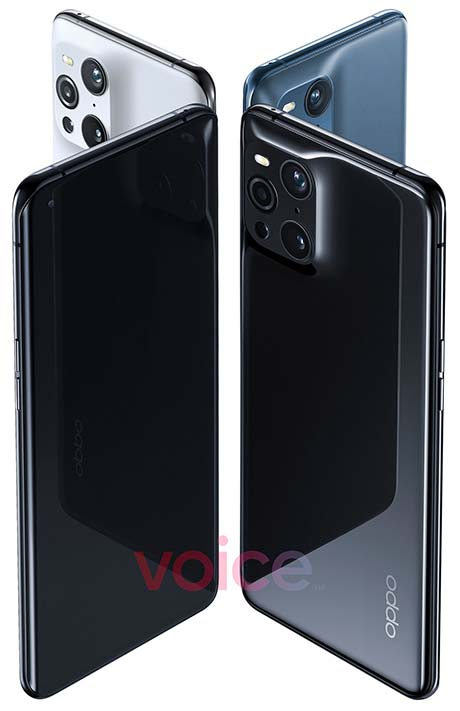 OPPO Find X3 Pro design in image leak via Revu Philippines