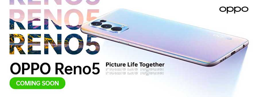 OPPO Reno 5 5G and OPPO Reno 5 4G launch teasers via Revu Philippines