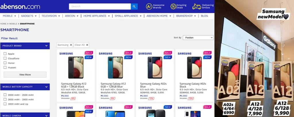 Samsung Galaxy A12 and Galaxy A02s prices spotted by Revu Philippines