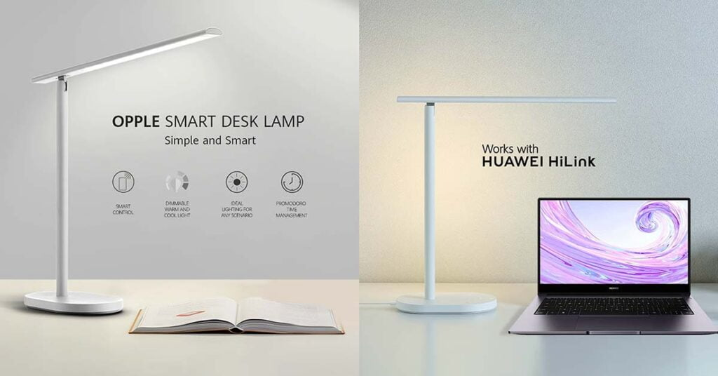 Huawei Opple Smart Desk Lamp price and features via Revu Philippines