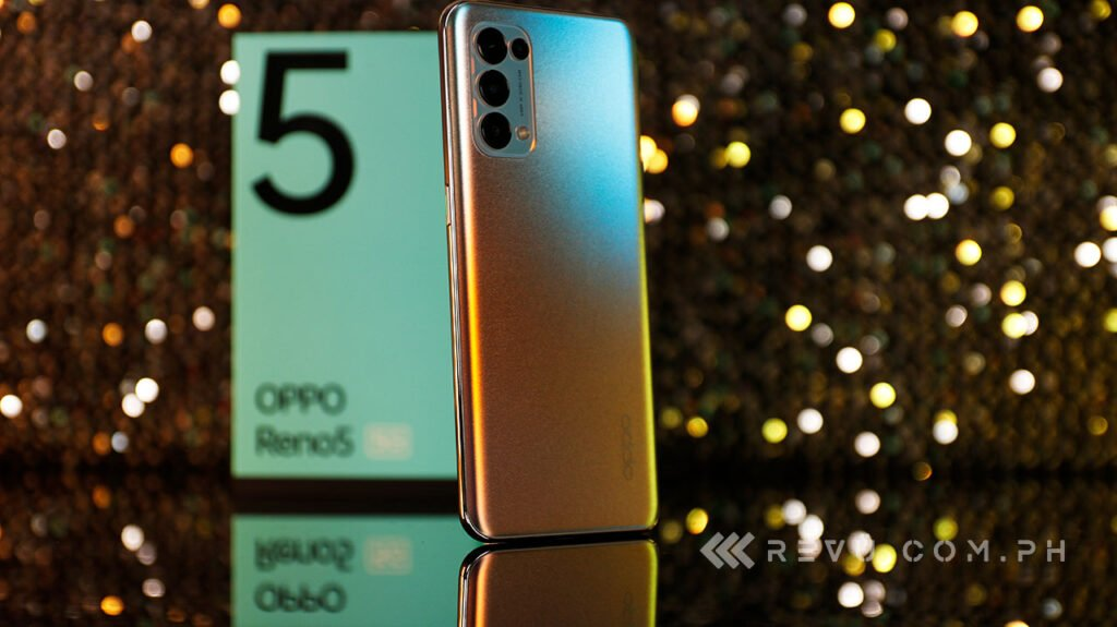 OPPO Reno 5 5G review, price, and specs via Revu Philippines