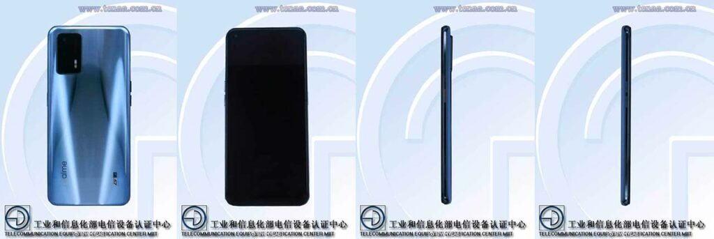 RMX2202 or Realme GT images on TENAA site via Revu Philippines