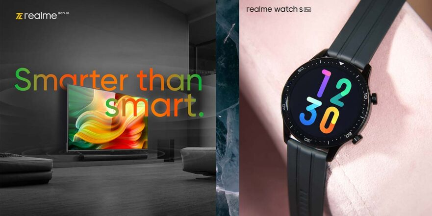Realme Smart TV and Realme Watch S Pro prices, specs, and features via Revu Philippines