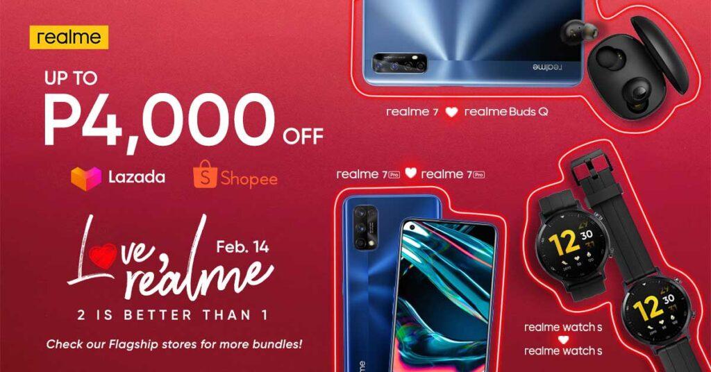 Realme Valentine's Day sale 2021 via Revu Philippines