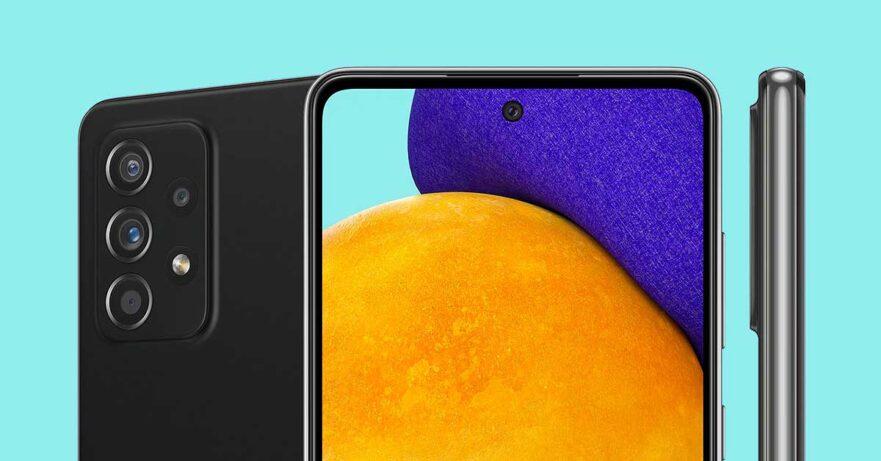 Samsung Galaxy A52 5G design in image leak via Revu Philippines