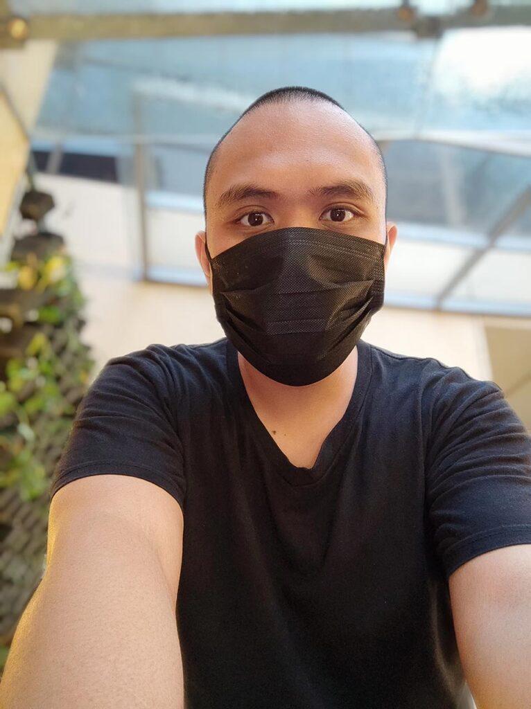 Xiaomi Mi 11 camera sample selfie picture in portrait mode by Revu Philippines