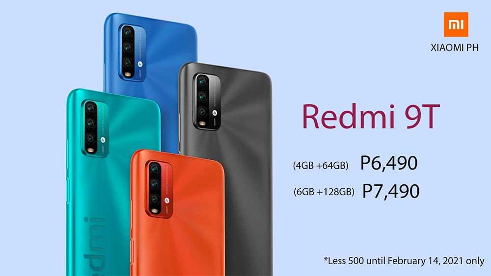 Redmi 9T P500 cheaper until Feb 14 in the Philippines - revü