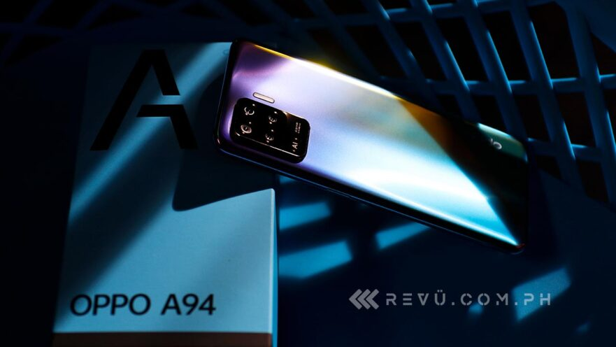 OPPO A94 review, price, and specs via Revu Philippines