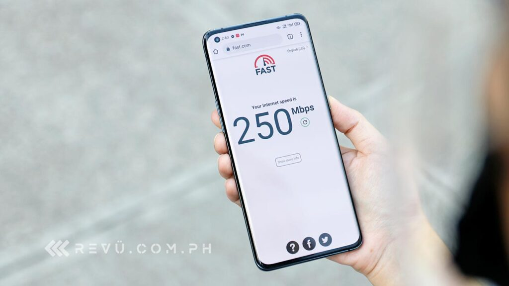 OPPO Find X3 Pro 5G speed test result in review by Revu Philippines