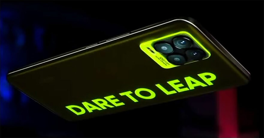 Realme 8 Pro in Illuminating Yellow color's price and specs via Revu Philippines
