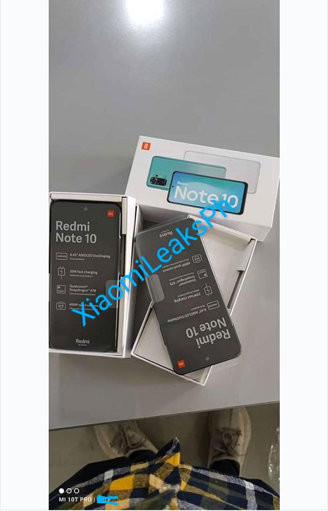 Redmi Note 10 allegedly bought from a store at SM City Lucena Mall via Revu Philippines
