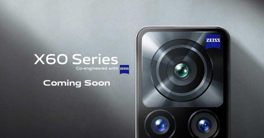Vivo X60 series global launch teaser via Revu Philippines