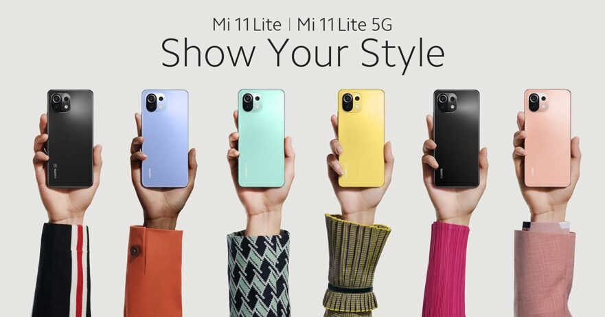 Xiaomi Mi 11 Lite 5G and Xiaomi Mi 11 Lite 4G price and specs via Revu Philippines
