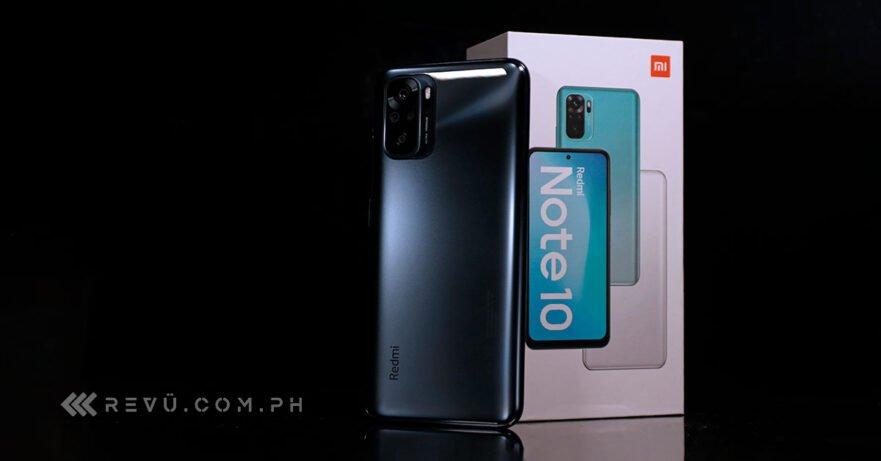 Xiaomi Redmi Note 10 price and specs via Revu Philippines