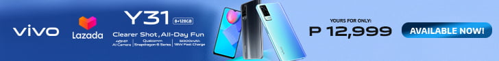 Vivo Y31 on Lazada March 2021