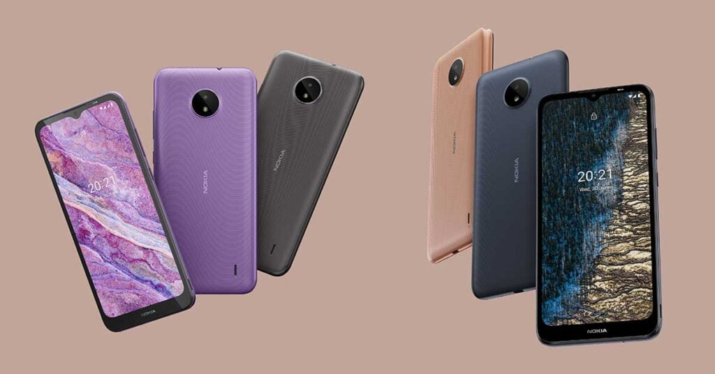 Nokia C10 and Nokia C20 price and specs via Revu Philippines