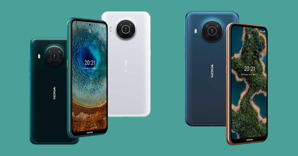 Nokia X10 and Nokia X20 price and specs via Revu Philippines