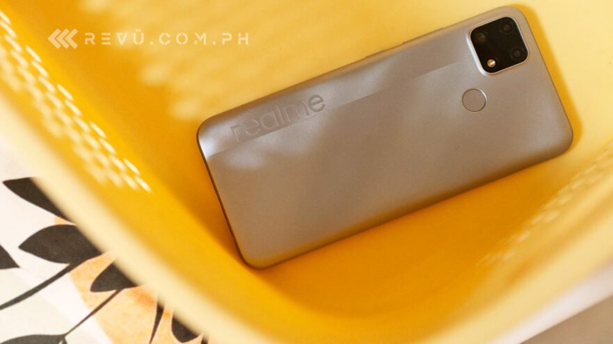 Realme C25 review, price, and specs via Revu Philippines
