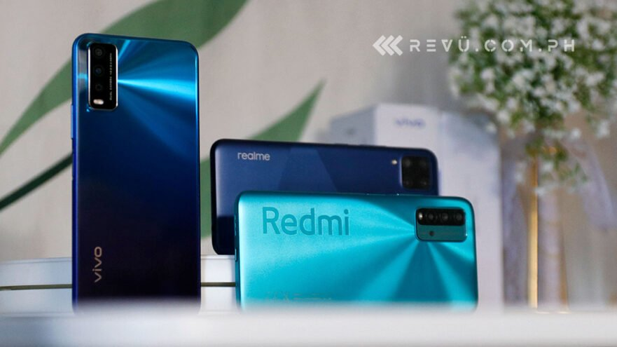 Redmi 9T vs Realme C15 vs Vivo Y20i: Comparison review by Revu Philippines