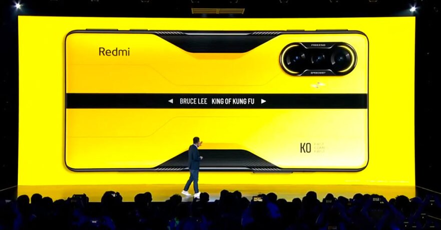 Redmi K40 Game Enhanced Edition Bruce Lee King of Kung Fu model gaming phone price and specs via Revu Philippines