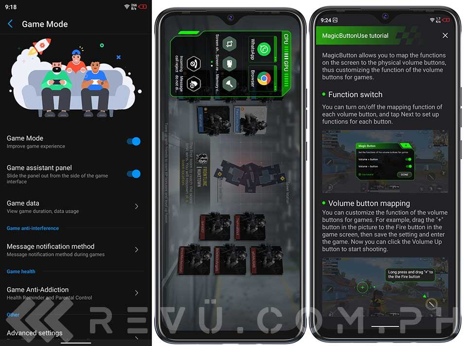 Tecno Spark 6 Air gaming-related features in review by Revu Philippines