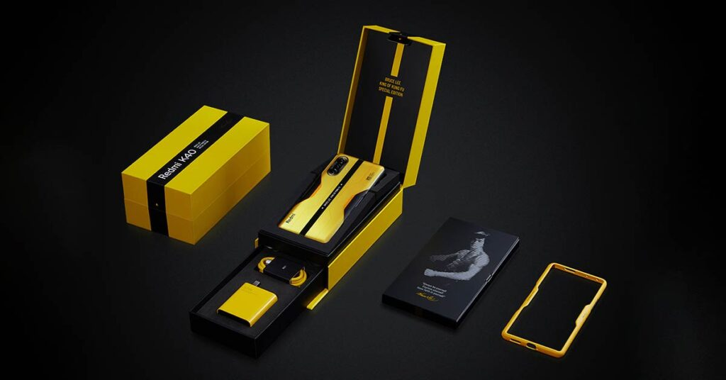 Unboxed: Redmi K40 Game Enhanced Edition Bruce Lee King of Kung Fu model gaming phone price and specs via Revu Philippines