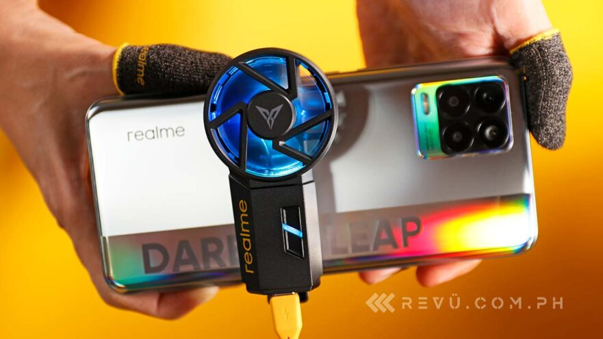 Realme Cooling Back Clip and Realme Finger Sleeves price and features via Revu Philippines