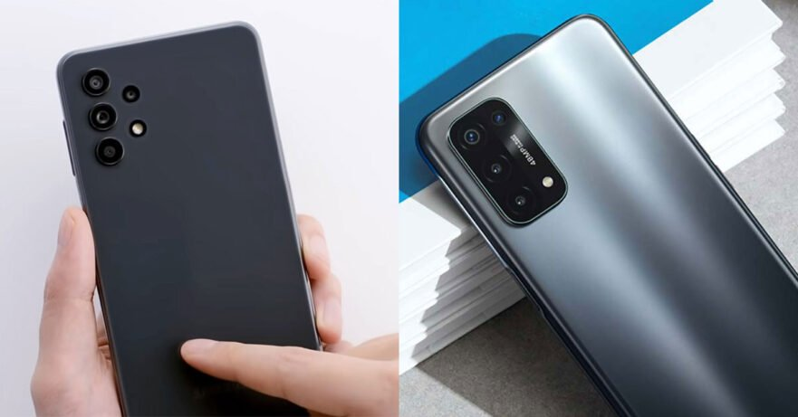 Samsung Galaxy A32 5G vs OPPO A74 5G price and specs comparison via Revu Philippines