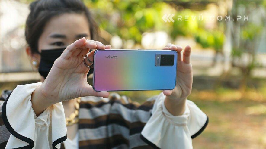 Vivo V21 5G review, price, and specs via Revu Philippines